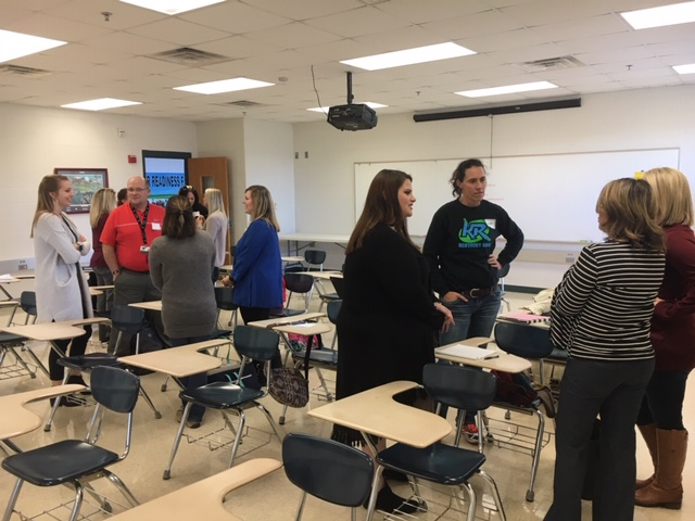 A New Teacher Academy workshop on classroom management was held at the Clinton College & Career Center on Wednesday, January 9th.