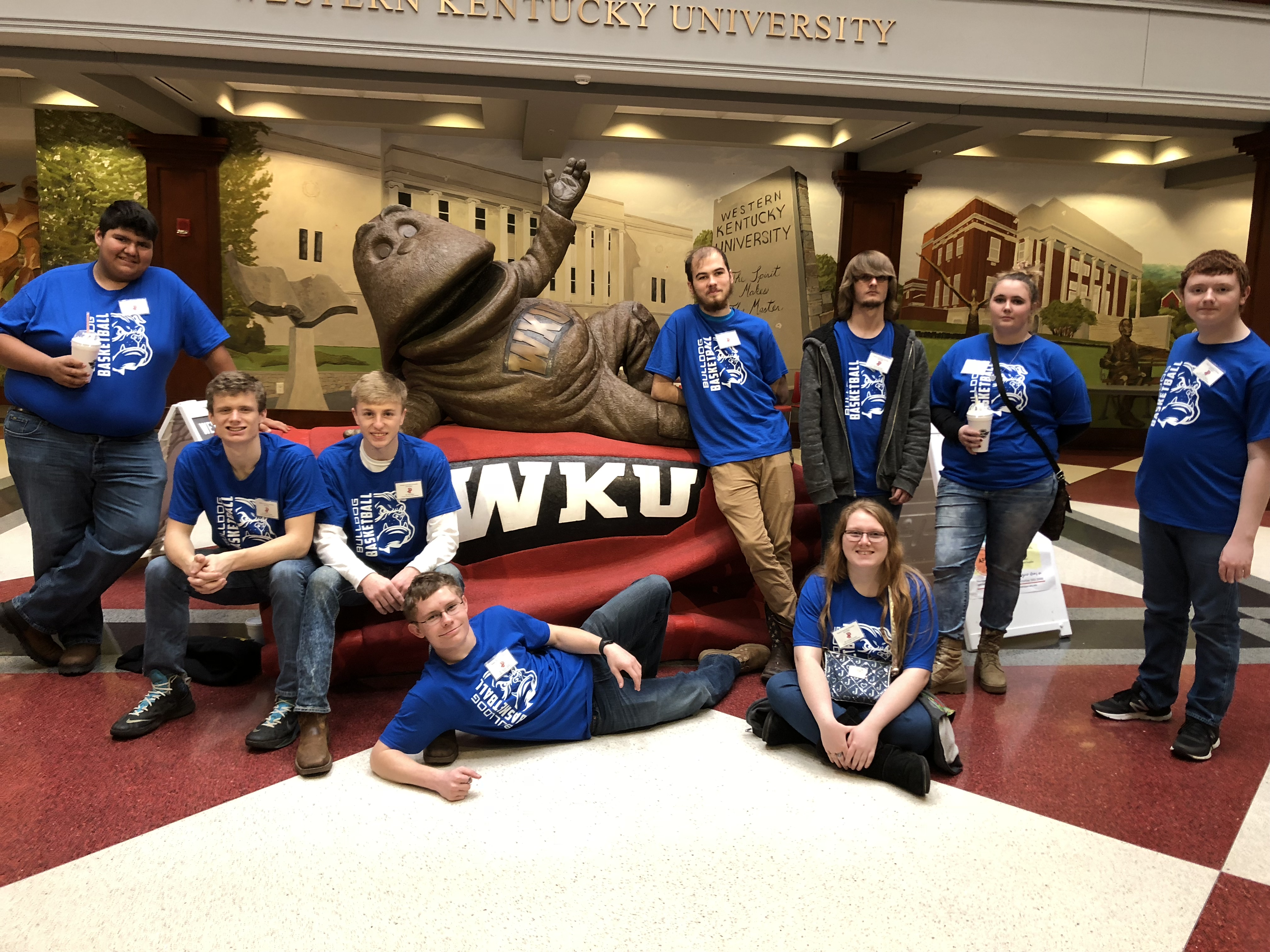 "Students and mentors from the CCHS i3 ""Get the Picture"" program attended the annual WKU Quiz Bowl on February 23rd."