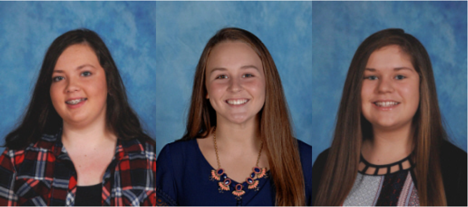 CCMS 8th graders Kendra Cross, Autumn McCutchen, and Abbigale Young have been selected to attend Rogers Explorers.