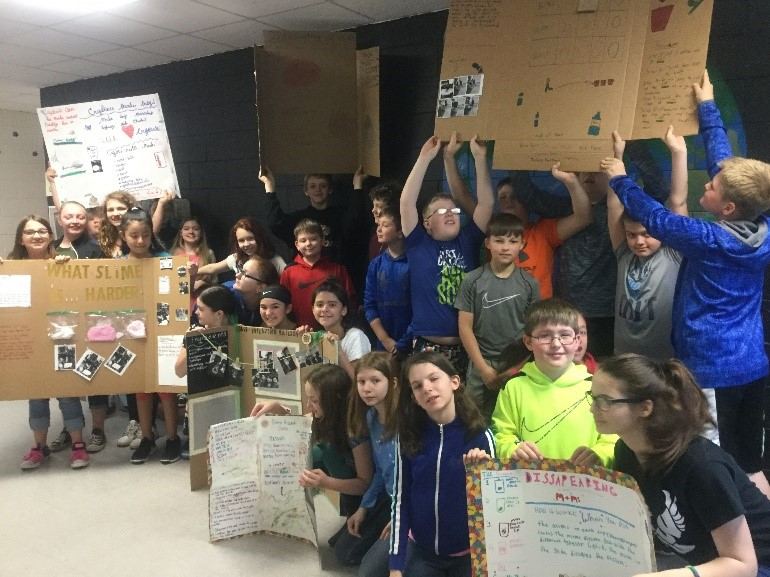5th Grade Science Students Participate In Science Fair Projects