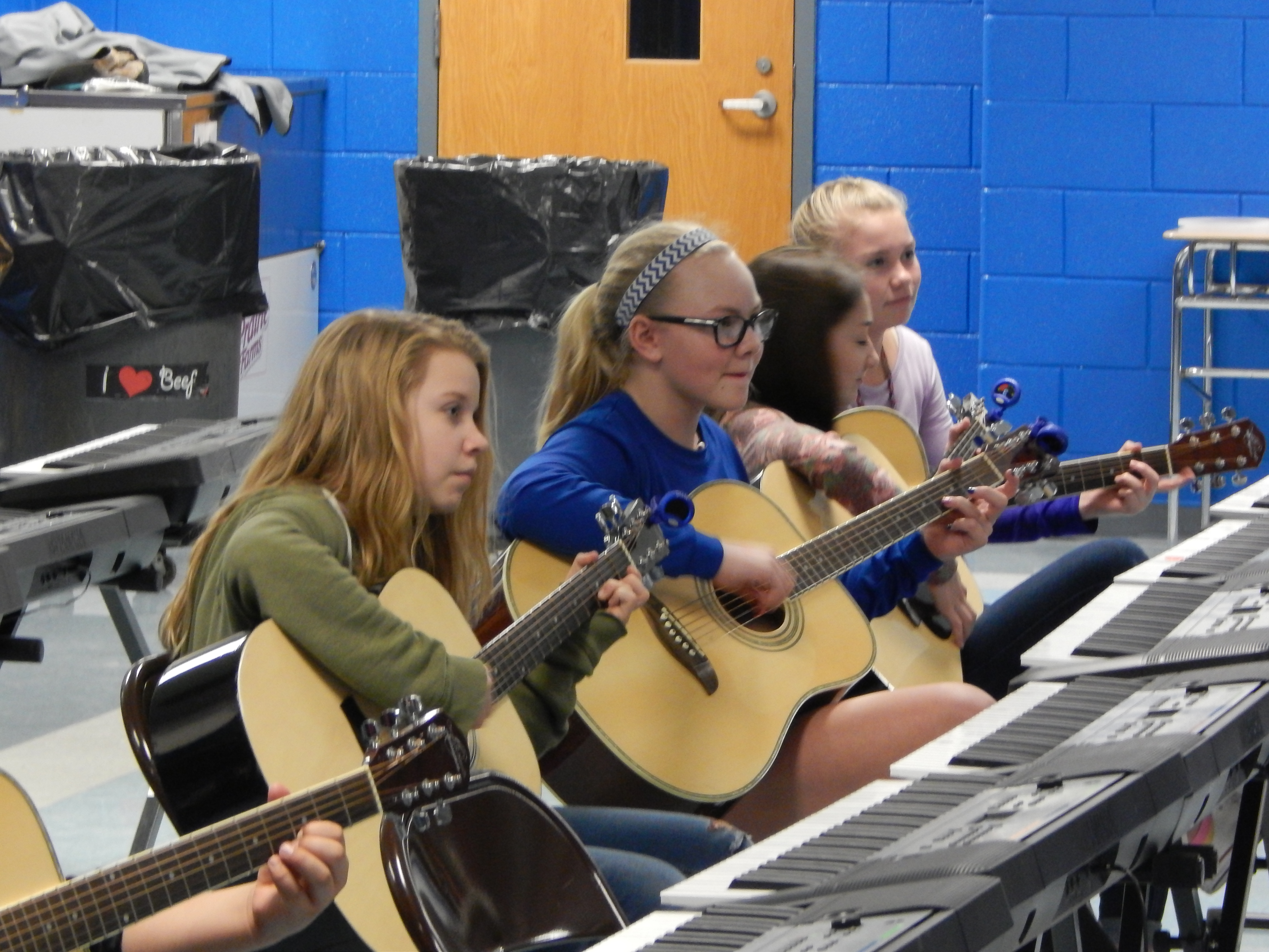 On Thursday, March 1, 2018, Clinton County Middle School held the third student showcase of the year.