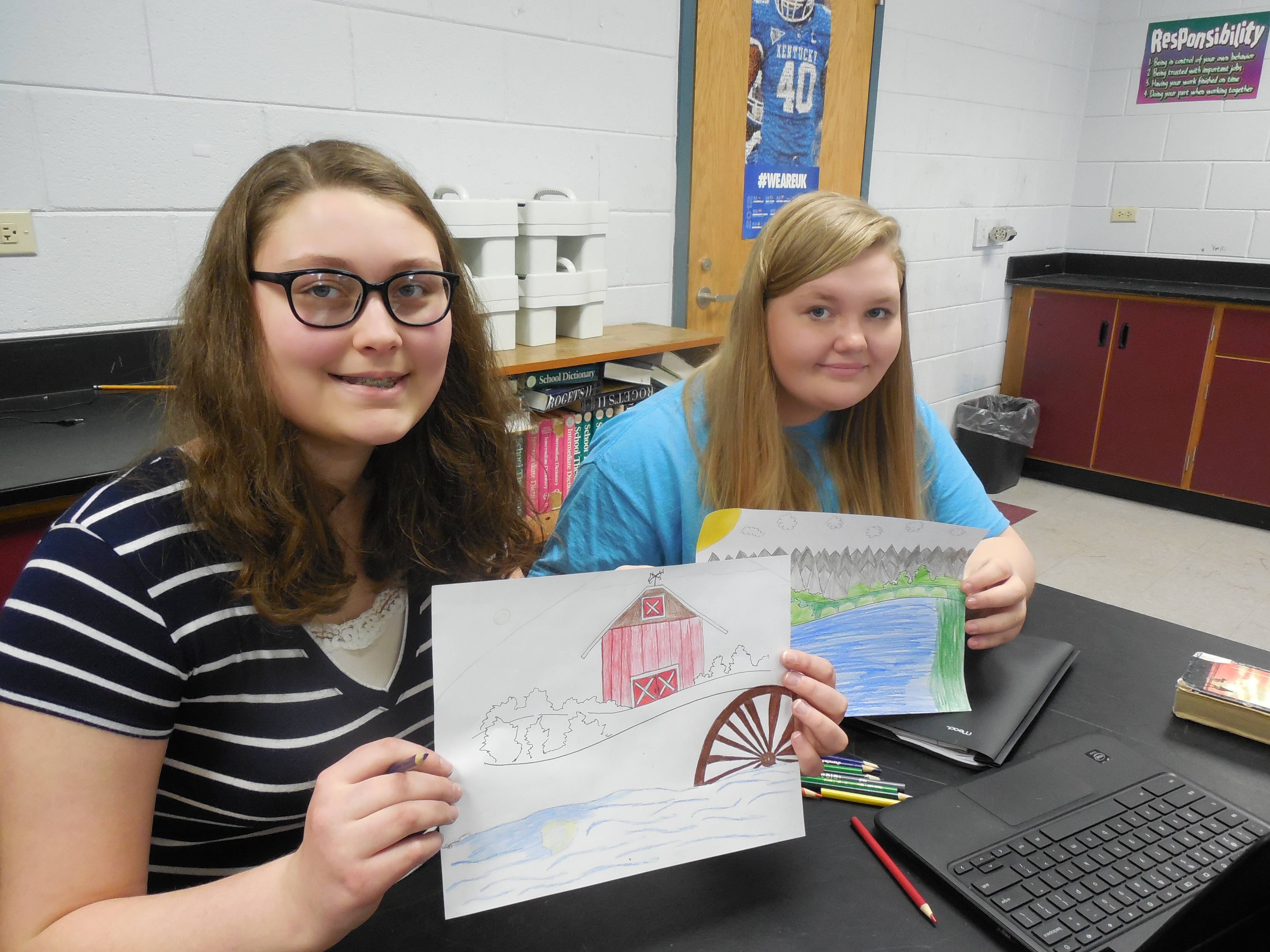 Clinton County Middle School was awarded a Showcasing the Arts grant from the Kentucky Arts Council.