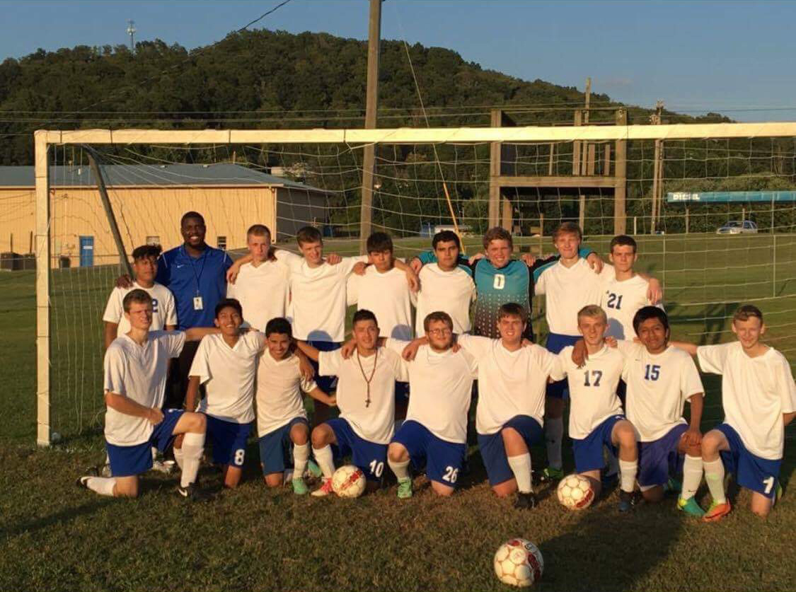 "The CCHS Soccer Dawgs are the 4th Region All ""A"" Tournament Champs!"