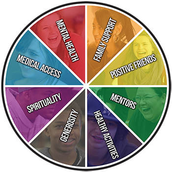 Sources of Strength Color Wheel