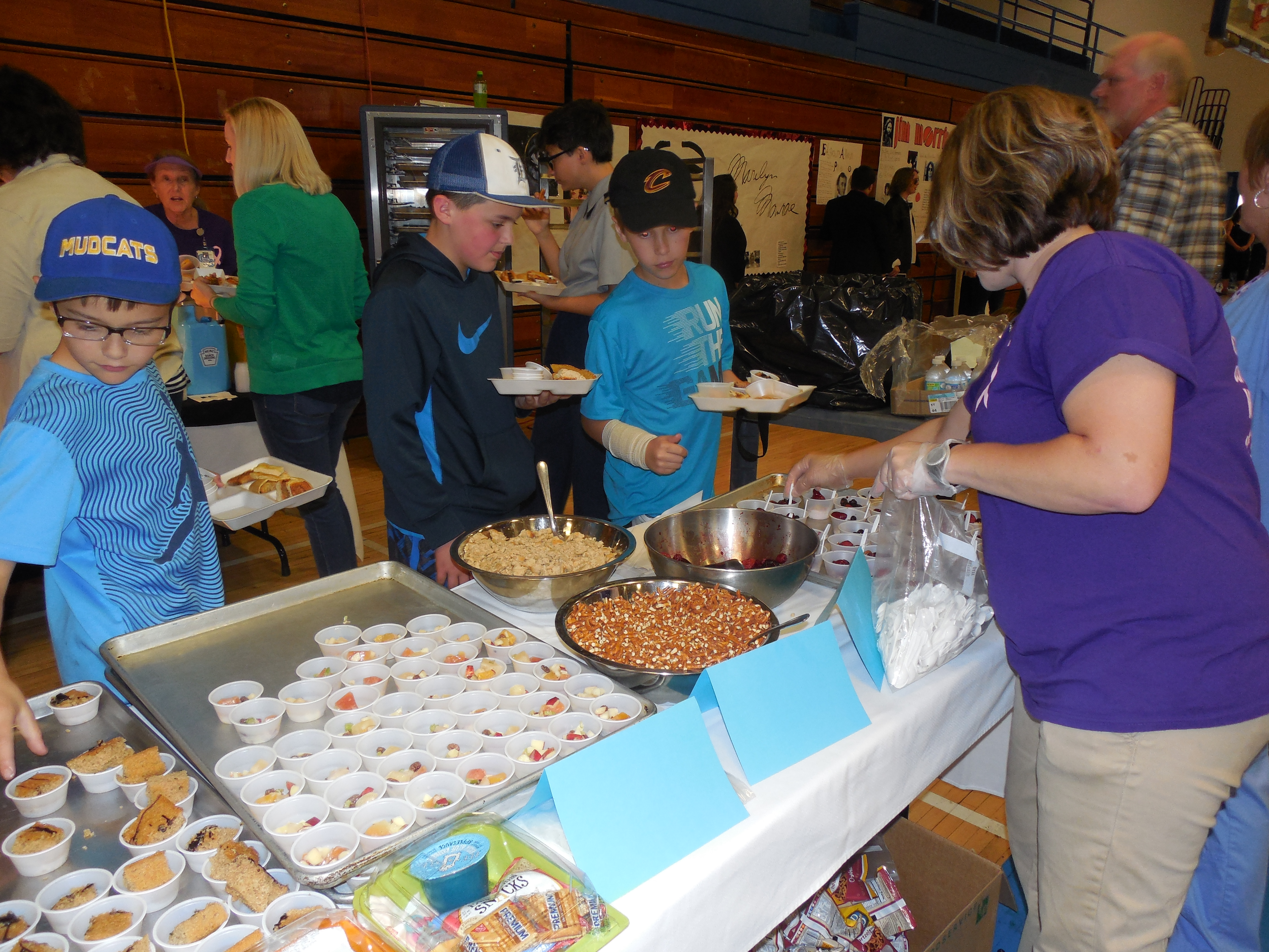 The 5th annual Clinton County Schools Taste Test Sampler was held at Clinton County High School on April 18th.