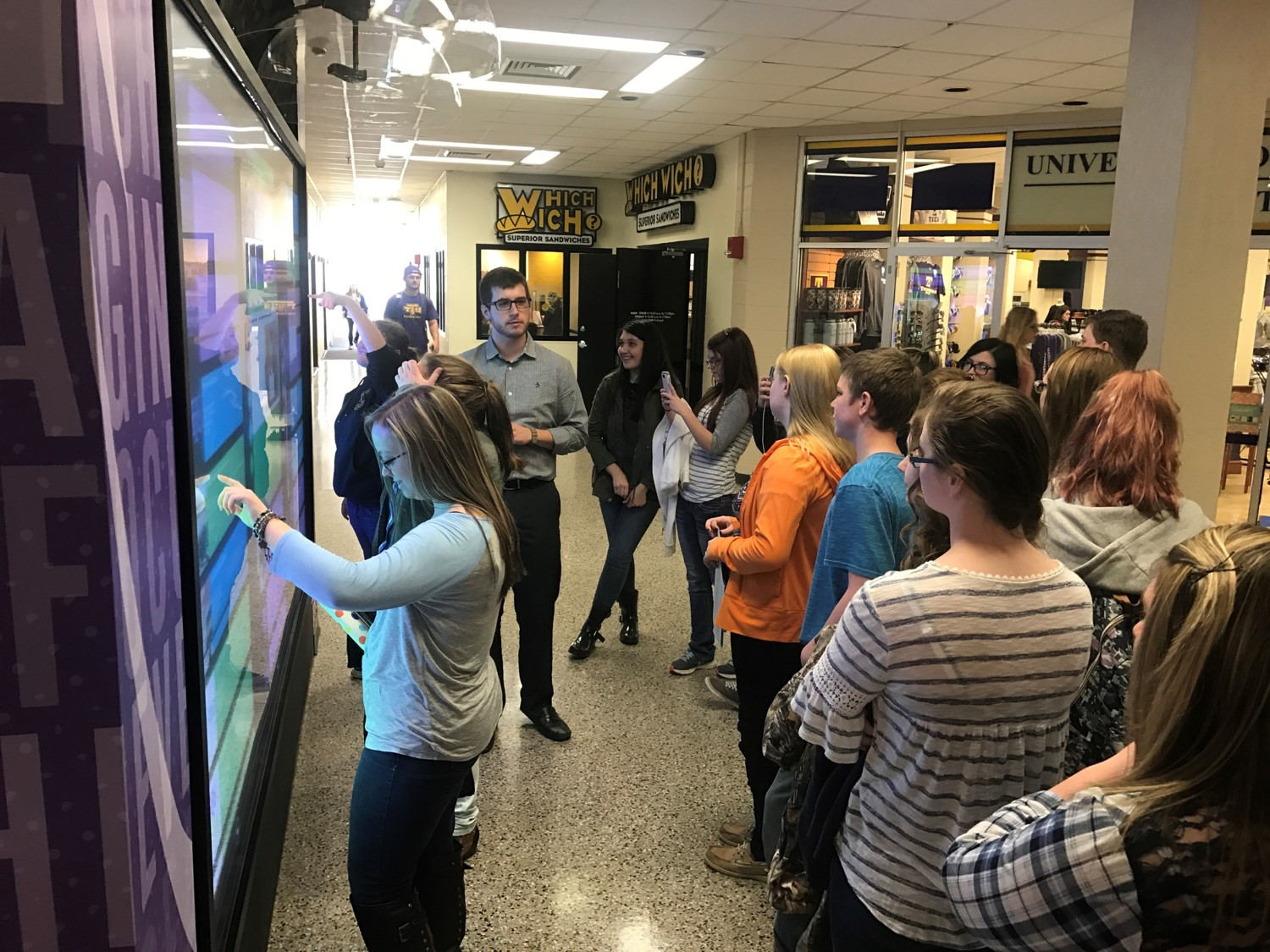 On Tuesday, March 21st, the Clinton County High School freshmen students enjoyed a visit to the campus of Tennessee Tech, sponsored by GEAR UP.